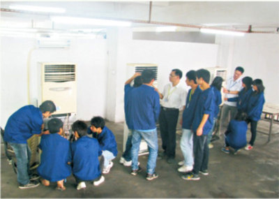 空调制冷专业实训场